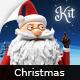 Santa - Christmas Animation DIY Kit