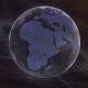 Elegant Broadcast Globe HUD