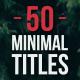 Minimal Titles