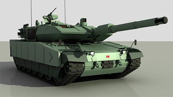 Turkish Main Battle Tank Altay