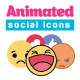 Animated Social Icons