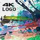 Abstract Paint 4K Logo
