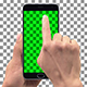 Smartphone Screen Presenter Promo with Touch Gestures