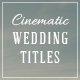 Download Wedding Titles Pack – Videohive
