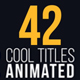 42 Cool Titles Animated