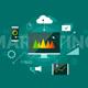 Digital Marketing Presentation Infographic Concept