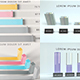 3D Infographic Charts