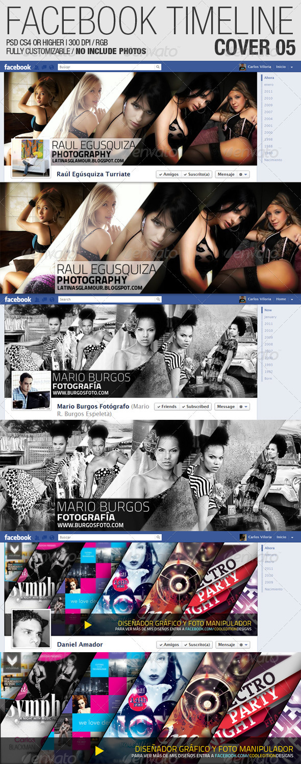 facebook timeline covers from