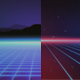 80s Background - GRIDS