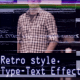 VHS Trailer (TV Interference and Typing Text)