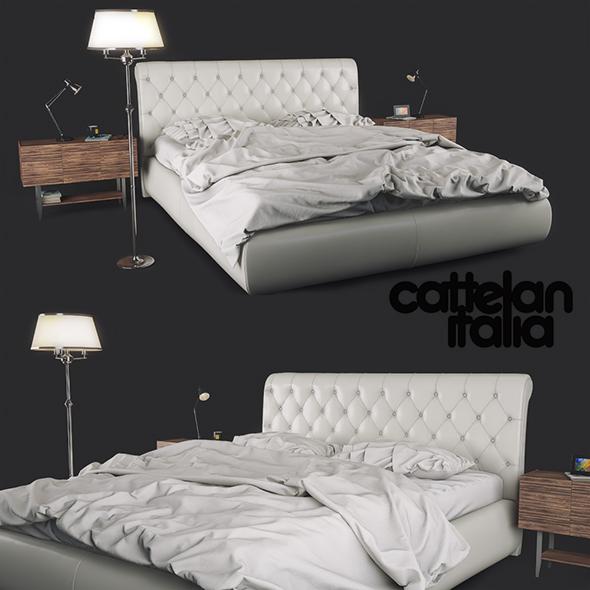 Bed Cattelan Italia Alexander