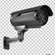 Set Of CCTV Security Camera (4-Pack)