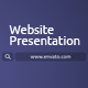 Elegant Website Presentation