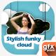 Stylish Funky Cloud Slideshow