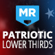 Patriotic Lower Thirds | American Theme for US Elections