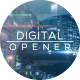 Digital Cinematic Parallax Opener and Slideshow