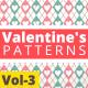 Valentine Hearts Animated Patterns Vol-3