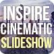 Epic Inspire Cinematic Parallax Opener | Slideshow