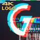 Glitch FX Logo Reveal 4K