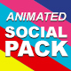 Animated Social Icons Pack 2017
