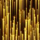 Golden Particle Streaks Rising