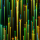 Colorful Particle Trails Background