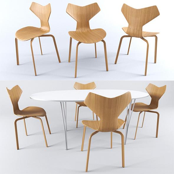 Fritz Hansen Chait+Table