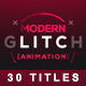 30 Glitch Titles