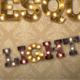 Burlesque Light Bulb Letters HD
