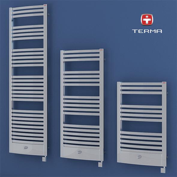 Heated towel rail Terma Dexter pro