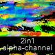 Glitch Morph Structure Frame 2in1