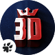 Majestic Cinematic 3D Logo
