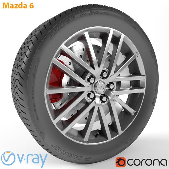 Mazda 6 Wheel