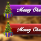 Merry Christmas & Happy New Year Lower Third Pack (Pack of 12)