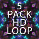 5 VJ LOOP Pack HD