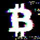 Bitcoin Glitch Logo