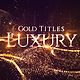 Gold Luxury Titles