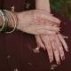 Indian Wedding Ceremony, Mehendi Hand