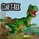 Clay Tyrannosaurus Rex