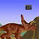 Clay Triceratops, Loop