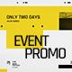 Event Promo Typography
