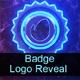 Badge Logo Reveal