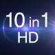 10 Sparkle Light HD Pack