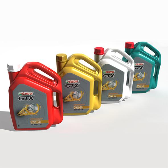 Castrol GTX Engine Oil Jar