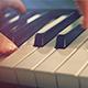 Music Background. Playing Piano