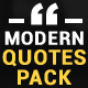 Modern Quotes Pack