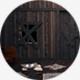 Mystery Dark Opening Door Horror Style