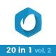 20 in 1 Minimal Logo Pack (vol.2)
