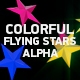 Colorful Flying Stars