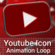 Youtube Icon Background Loop